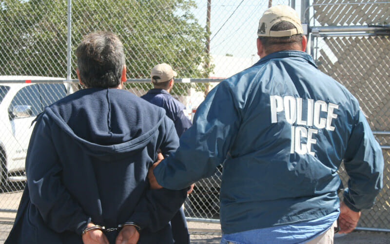 This article is about Immigration and Customs Enforcement. Images are for illustrative purposes only.