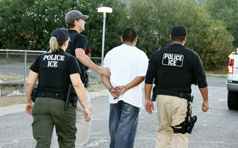 This article is about immigration raids. Images are for illustrative purposes only.